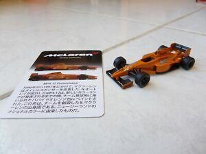 Mclaren Mercedes MP4-12 Presentation David Coulthard #10 1997 1/64 Kyosho Card