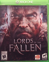 LORDS OF THE FALLEN LIMITED EDITION + SOUNDTRACK XBOX ONE DISK LIKE NEW