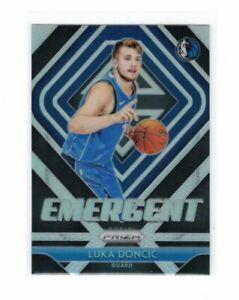 NBA Luka Doncic Rookie Card - PRIZM Emergent *SILVER* Prizm 2018/19