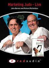 Marketing Judo Live: Audio Cassette, Richardson, Richard, Barnes, John, New Book