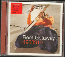 REEF GETAWAY 11 track CD NEW 20 page LUXURY BOOKLET Set the Record Straight