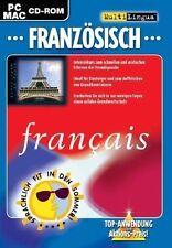 MultiLingua Französisch Intensiv PC Sprachkurs Sprachlernkurs Französischkurs