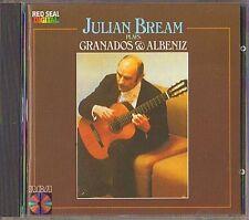 Julian BREAM: ALBENIZ Suite Espanola Mallorca GRANADOS Dedicatora Danza Valse CD