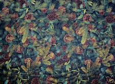 Fat Quarter Pine Cones 100% Cotton Quilting Fabric