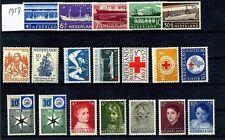 Nederland Jaargang 1957  compleet luxe postfris