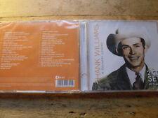 Hank Williams Sr. - A Country Legend  [2 CD Album] NEU