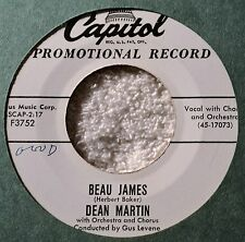 Dean Martin Beau James DJ 45 Crooner Popcorn Cool! Nice Write to Me from Naples
