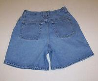 Junior Women's Arizona Blue Denim Cotton Jean Shorts 9