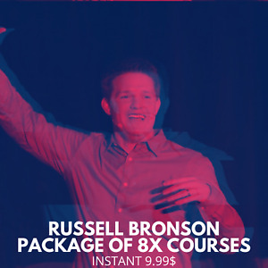 Russell Brunson Package Of 8x Courses☄️Bundle Course☄️ Value $9997+