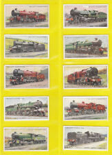 Railway/Trains UK Issue Collectable Will's Cigarette Cards (1918-1939)