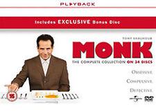 DVD:MONK - COMPLETE - NEW Region 2 UK