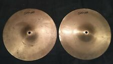 "14"" Stagg Hi Hat Cymbals For Drum Kit"