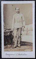 CDV albumine photographie - Empereur François Joseph 1er d'Autriche - Vers 1870