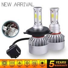 Pair Bulbs H4 9003 LED Headlight Kit Combo 2600W 390000LM High Low Beam 6000K