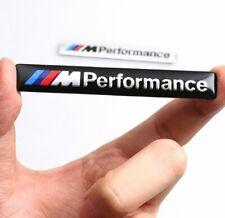 Für BMW Tuning M Performance Emblem aus Aluminium Sticker Aufkleber in Schwarz