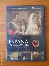 DVD ESPAÑA EN LA MEMORIA 5 - LA MUJER EN EL TIEMPO - CAJA SLIM (L5)