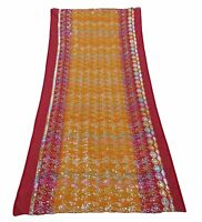 Indian Vintage Dupatta Embroidered Shawl Traditional Women Scarves EMBDP5117