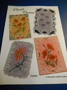 Parchment Craft Patterns Floral Fancies by Pauline Loweth