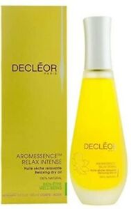 Decleor Aromessence Relax Intense Relaxing Dry Oil  3.3 oz / 100 m NewNOBOX