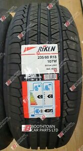 235/60R18 107W XL RIKEN EXTRA LOAD 235 60 18 Rating C C  71db MICHELIN MADE