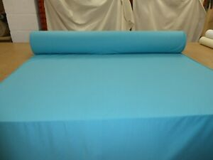 Job Lot - 5 metres of TURQUOISE BLUE - Upholstery Fabric