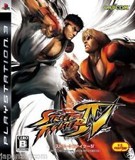 Used PS3  Street Fighter IV SONY PLAYSTATION 3 JAPAN JAPANESE IMPORT