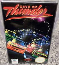 """Days of Thunder Nintendo Nes Vintage Game Box 2""""x3"""" Fridge Locker Magnet"""