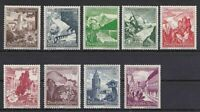 THIRD REICH Mi. #675-683 mint MNH Winterhilfswerk stamp set! CV $120.00