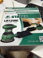 LEVIGATRICE ROTOORBITALE STAYER LR125 300W CON VELCRO 2 ANNI DI GARANZIA