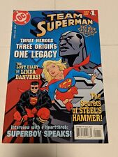 Team Superman #1 May 1998 DC Comics