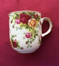Old Country Roses ROYAL ALBERT Classic III Coffee Mug INDONESIA c. 1999