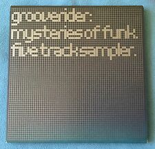 GROOVERIDER : MYSTERIES OF FUNK - 5 TRACK PROMO CD - HGCD14