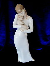 Lladro #8714 GOODNIGHT MY ANGEL BRAND NIB MOTHER & BABY LOVE FAMILY LARGE SAVE$$