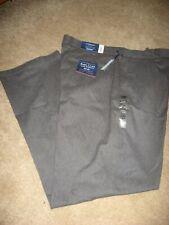 Mens NWT Gray CROFT & BARROW EasyCare Stretch Khakis Pants 38 x 34