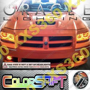 ORACLE Head/Foglight HALO RING KIT for Dodge Magnum 2008 ColorSHIFT LED 1.0