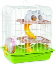 """New listing Prevue Hendryx Hamster Haven 2-Story Hamster/Gerbil Cage 14"""" Assorted"""