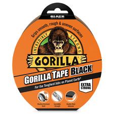 Gorilla Tough Duct Tape Roll Extra Strong Repair FIX 25/48mm x 9m 11m 32m BLACK