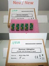 5 x praxis automation sensor adapter 95.6.10p.705 megaguard series