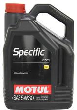 MOTUL OLIO SPECIFIC 0720 5W-30 LUBRIFICANTI MOTORE RENAULT RN0720 SINTETICO 5 LT