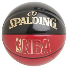 SPALDING JAPAN Basketball NBA UNDERGLASS Size:7 Black Red 74-653J