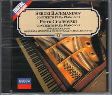 DECCA Jorge Bolet - Rachmaninov Concierto 2 - Chaikovski Concierto 1 - CD SEALED