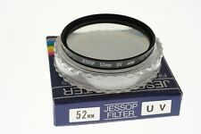 Jessop 52mm Ultraviolet (UV) filter. MINT- cased cond. Top quality!