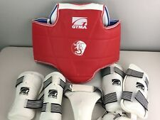 GTMA martial Arts Gear And Duffel Bag. Youth Large