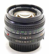 Minolta 50mm f/1.4 MD Rokkor lens EXC++ #28909
