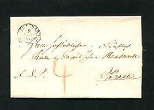 """Württ.  Steigbügel Stempel """"Stuttgart""""  1843     (#2166)"""