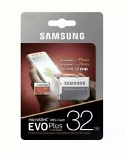 Samsung Micro Sd Card SDHC EVO+ 95MB/S UHS-1 Class 10 With Adapter 32gb New