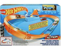 Hot Wheels-Rapid Racing Track-Brand New And unopened- Raceway Champions-NASCAR