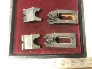MACHINIST TOOLS LATHE MILL Lot Adjustable Dove Tail Hold Down Blocks Straps