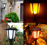 96LED Solar Powered Light Landscape Garden Flame Waterproof Torch Lamp Yard Path