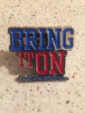 Bring It On: The Musical Pin Broadway Brand New Sealed In Plastic